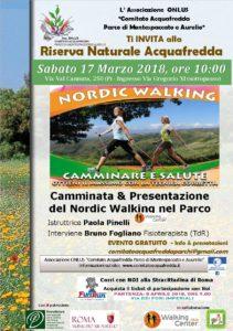 Camminata nella riserva naturale praticando il Nordic Walking @ Riserva dell'Acquafredda Roma | Roma | Lazio | Italia